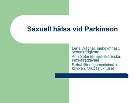 sexuell hälsa klinik för att läsa