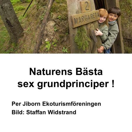 Naturens Bästa sex grundprinciper !