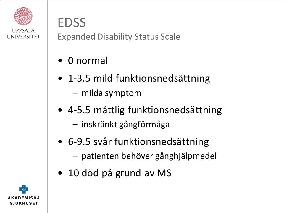 HSCT för MS Svenska erfarenheter