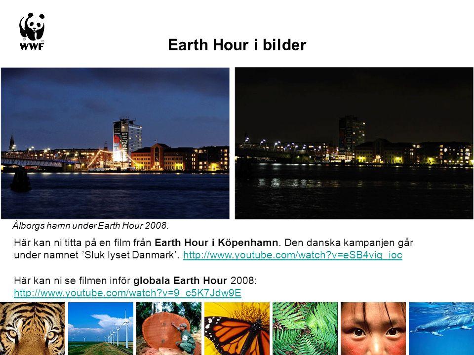 Earth Hour i bilder
