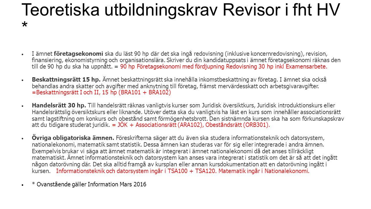 Alla fristående kurser finns på www.antagning.sewww.antagning.se Ansökan 15/3 – 15/4 Tror du att kurser kan överlappa innehållsmässigt.