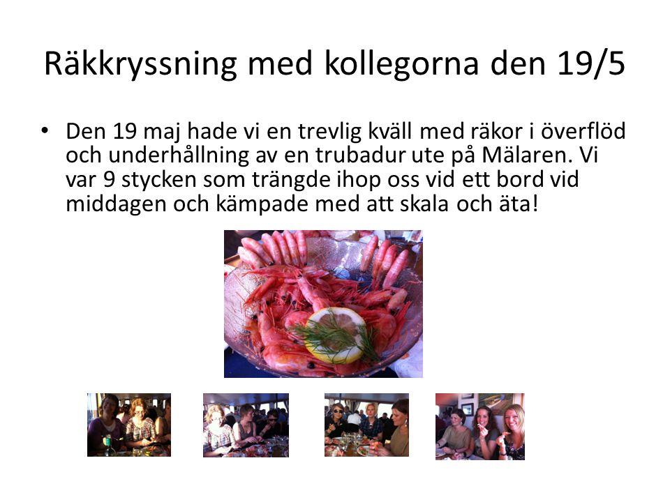 Stjärnorna på travet den 9/12 • 12 medlemmar tog sig ut till Sundbyholm för att äta gott och underhållas.