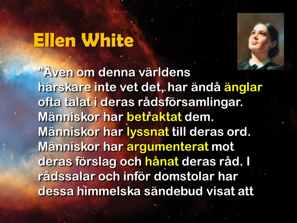 Ellen White de noga känt människors historia.