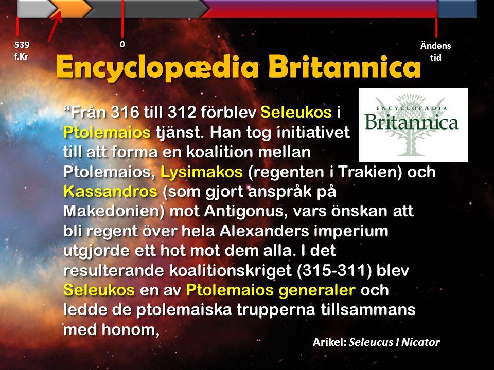 Encyclopædia Britannica vilka besegrade Demetrius, Antigonus sons, styrkor i slaget vid Gaza i södra Syrien (312).