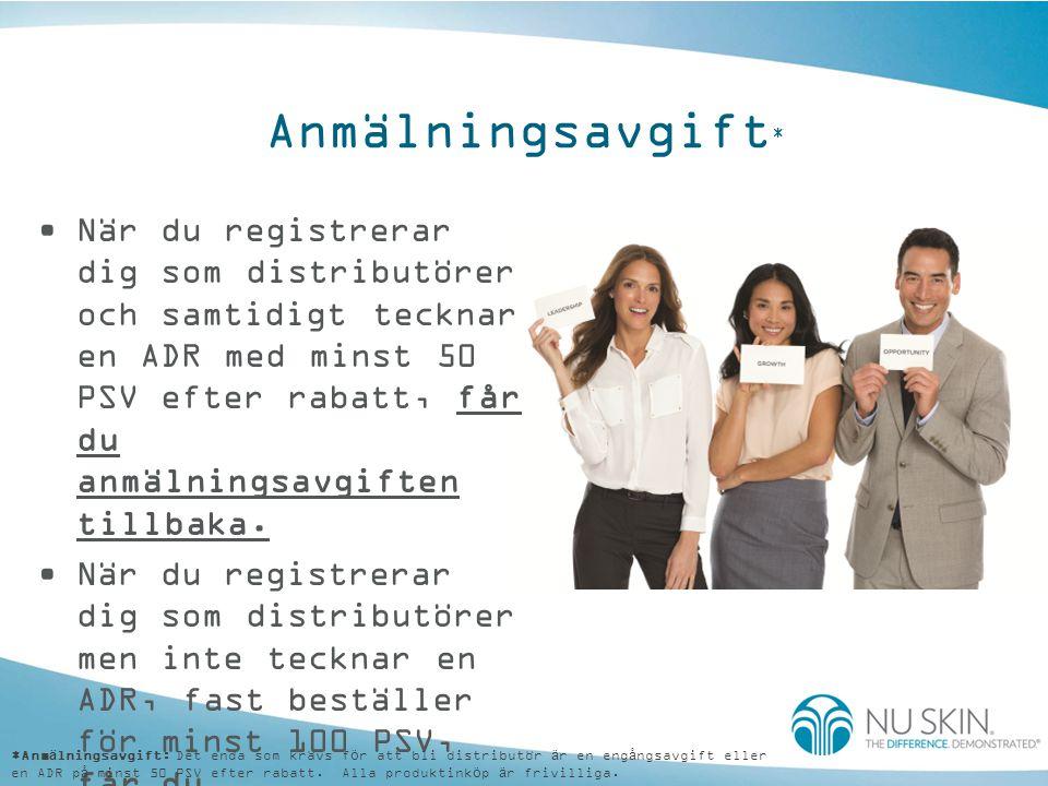 Hantering av ADR •ADR-konton kan hanteras online: –Produkter, expedieringsdatum, leveransadress, betalningsmetoder, uppsägning...kan alla ändras.
