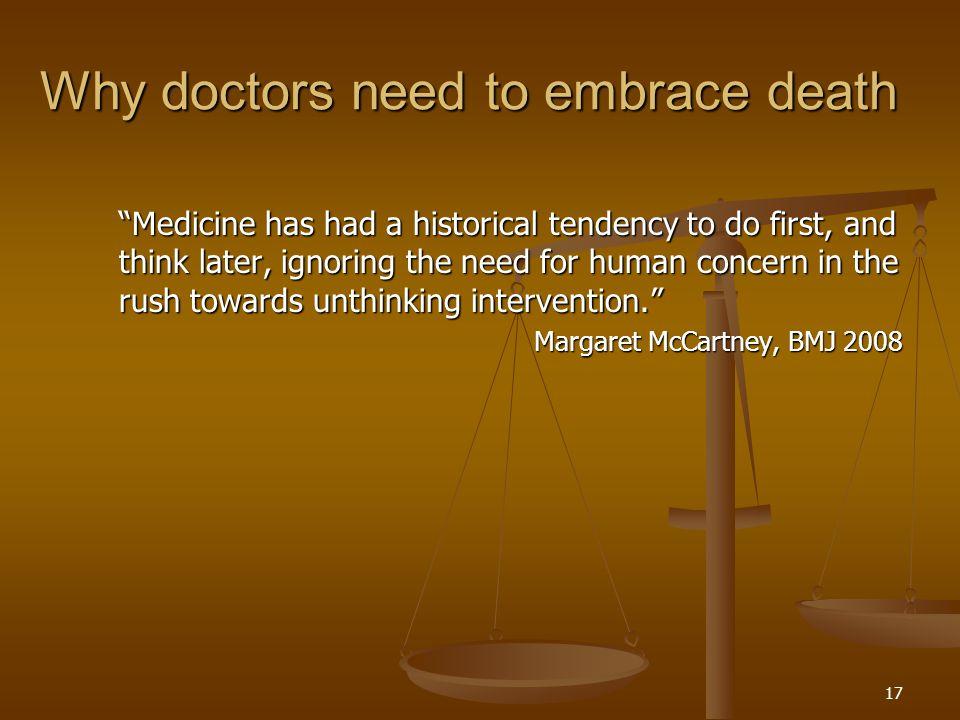 18 A strategy for end of life care in the UK  Endast 34% av allmänheten hade någon gång diskuterat sina önskemål inför döden.