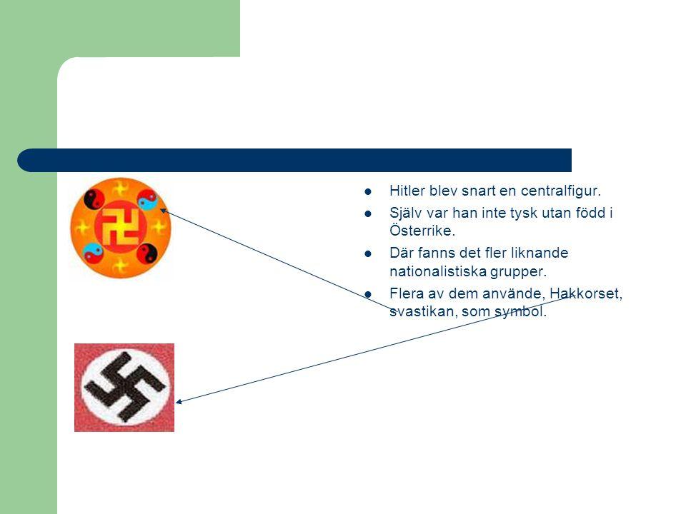 Varför Nazisterna??.