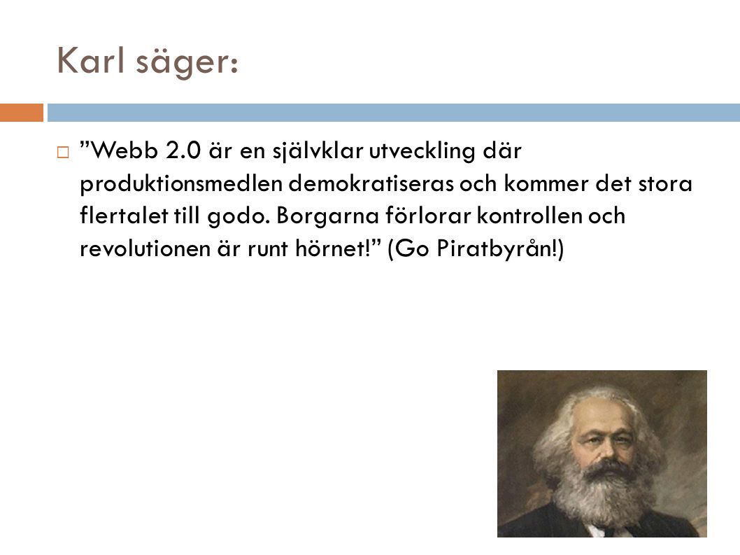 Adam Smith och webb 2.0