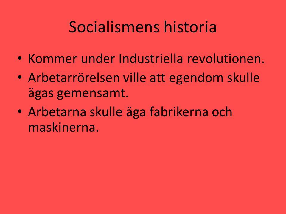 Socialismens historia i Sverige • Vid mitten av 1800-talet var Sverige extremt fattigt, folk svalt.