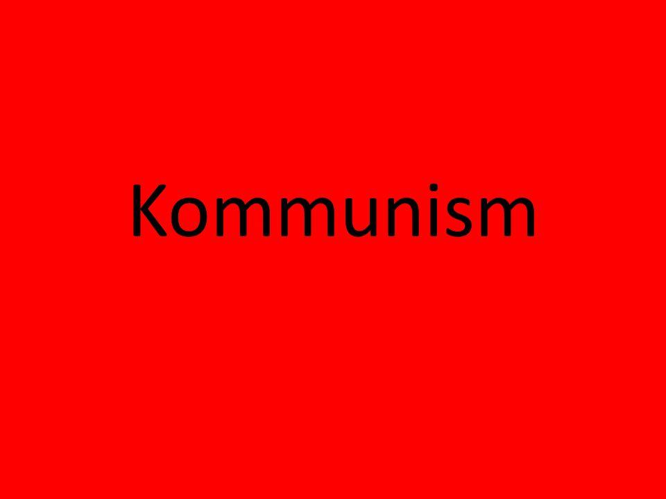 Grundidé & nyckelord • Ordet kommer från latinets communis = gemensam.