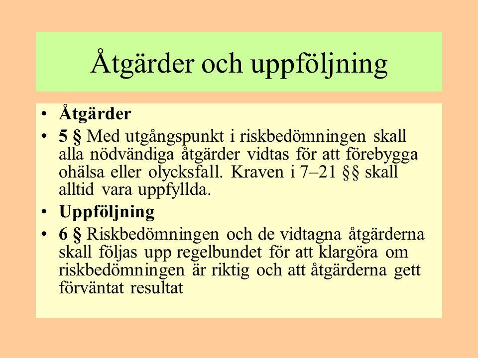 Krav på produkter •7 § Om en arbetsutrustning omfattades av svenska föreskrifter, som överför EG-direktiv till svensk rätt när den släpptes ut på marknaden eller togs i drift inom EES, gäller följande.