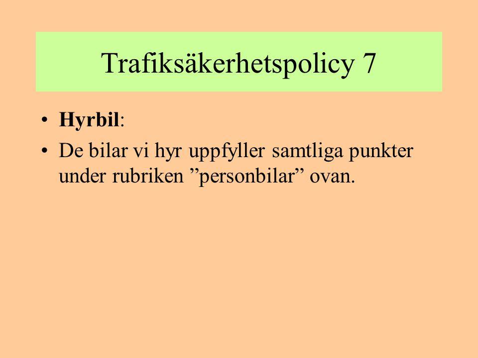 BEHÖRIGHETER Två typer av behörigheter -Trafikbehörighet -Arbetsmiljömässig behörighet