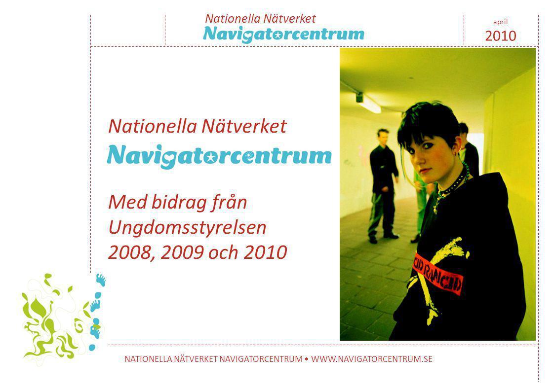 Vägarna in 2010-04-20 Ola Johnsson, Navigatorcentrum Trelleborg Nationella Nätverket NATIONELLA NÄTVERKET NAVIGATORCENTRUM • WWW.NAVIGATORCENTRUM.SE april 2010