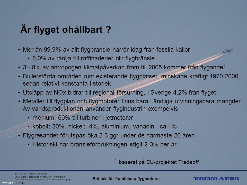 10110 Utg.4 Volvo Aero Corporation Proprietary Information.
