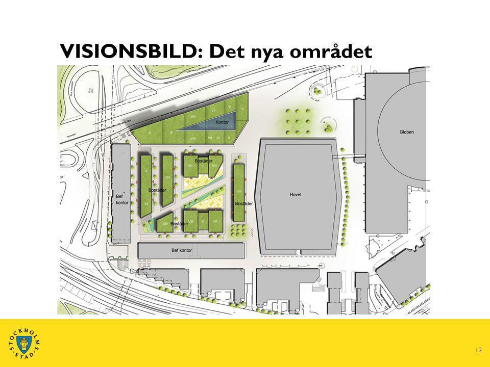 Nya lokaler i Söderstaden 13 1.Planerad flytt om ca 5 år 2.Moderna och effektiva arbetsplatser 3.Snabbt växande stadsdel – blandning av kontor, handel, evenemang och bostäder 4.Enkelt att ta sig dit – goda kommunikationer med bussar, tunnelbana och tvärbana 5.Arkitekttävling kommer att utlysas