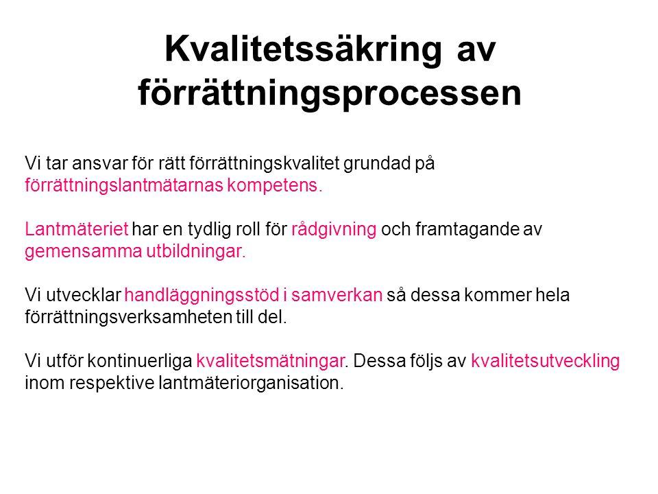 Vi utnyttjar den samlade resurs som Svenskt Lantmäteri innebär i marknadsarbete och produktion i syfte att ge våra kunder så effektiva lösningar som möjligt.