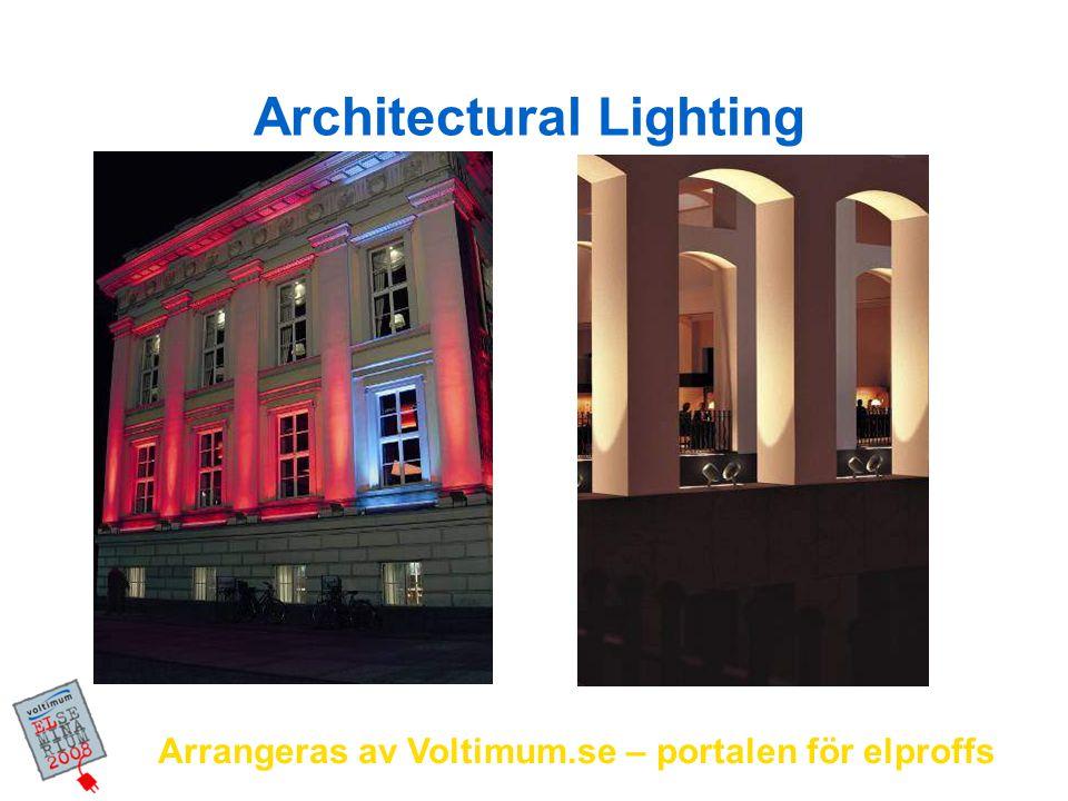 Arrangeras av Voltimum.se – portalen för elproffs Professional Mood