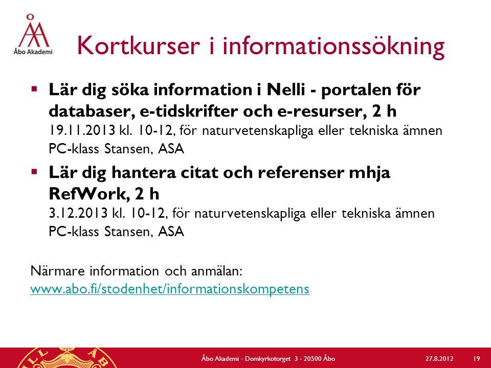 Lärcentrets klinikverksamhet för studerande För alla åk  Handledning i användning av kompensatoriska hjälpmedel för studerande med funktionsnedsättning  Spännargruppen (start på våren) För kand- & graduskribenter  Kand- och graduklubben (start i oktober)  Kand- och gradukliniken  Individuell IT-handledning www.abo.fi/stodenhet/klinikverksamhet www.abo.fi/stodenhet/klinikverksamhet Kontakt: larcentret@abo.filarcentret@abo.fi 27.8.2012Åbo Akademi - Domkyrkotorget 3 - 20500 Åbo 20
