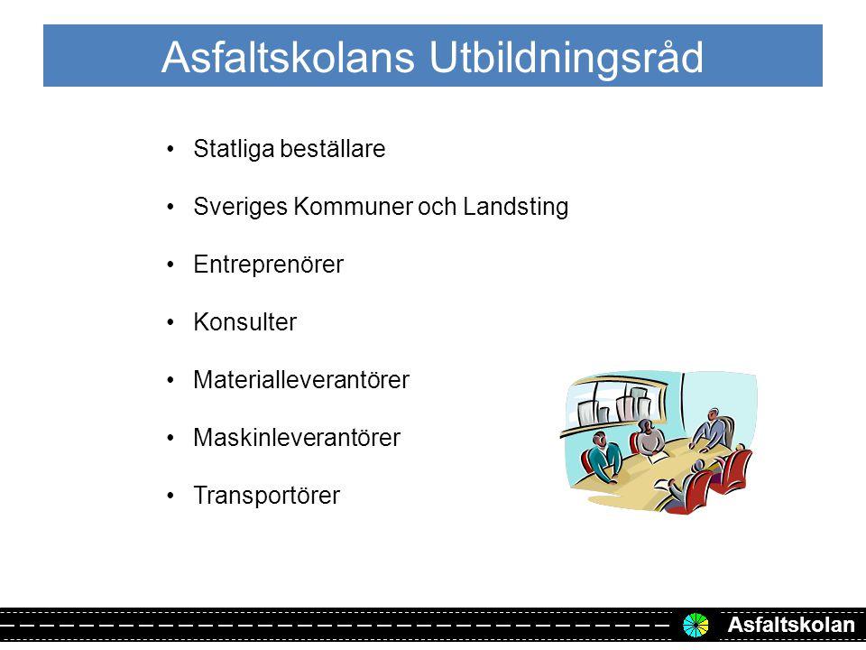 Asfaltskolan Genomförda och planerade kurser 20132014 20-21 febStockholm22-23 januariStockholm 3-4 aprilGöteborg1-2 aprilMalmö 10-11 aprilGöteborg8-9 aprilUmeå