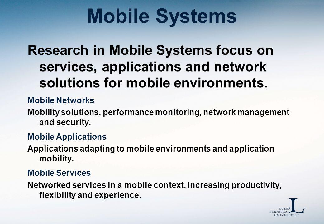 Mobila Plattformar Utveckling för mobila tjänsteplattformar Vad är det vi säljer.