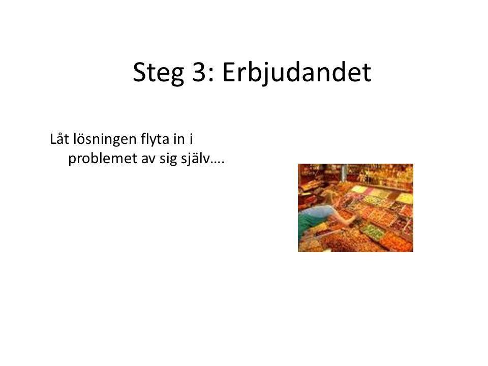 Det elfte budet Sälj problemet innan du försöker sälja lösningen…..