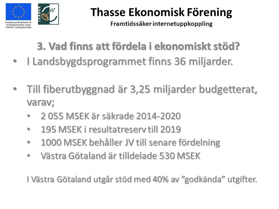 Thasse Ekonomisk Förening Framtidssäker internetuppkoppling 4.