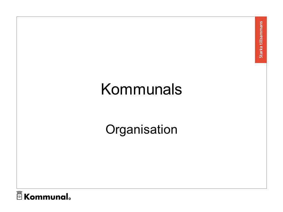 Kommunals organisation Arbetsplatsombud Utses av arbetskamraterna på arbetsplatsen Väljs av sektionen Arbetsplatsombuden utgör den viktigaste länken mellan medlemmarna och organisationen