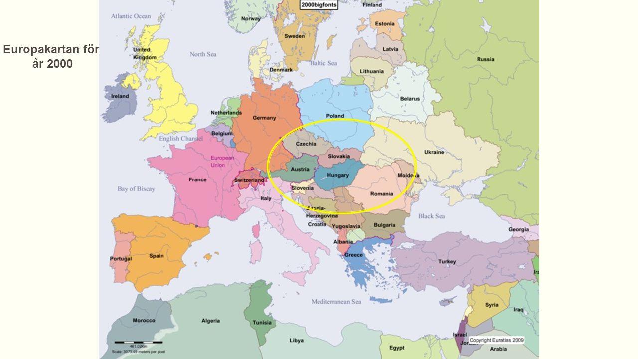 Vad hade hänt i Europa efter den franska revolutionen.