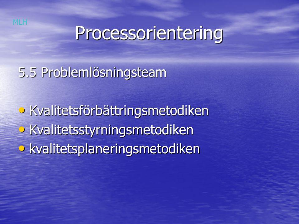 Processorientering Processorientering Grupparbete 4: - definiera kärnprocesser För en modern bensinstation För en modern bensinstation MLH