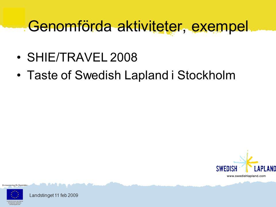 Klicka här för att ändra format Klicka här för att ändra format på bakgrundstexten Nivå två Nivå tre Nivå fyra Nivå fem 20 Landstinget 11 feb 2009
