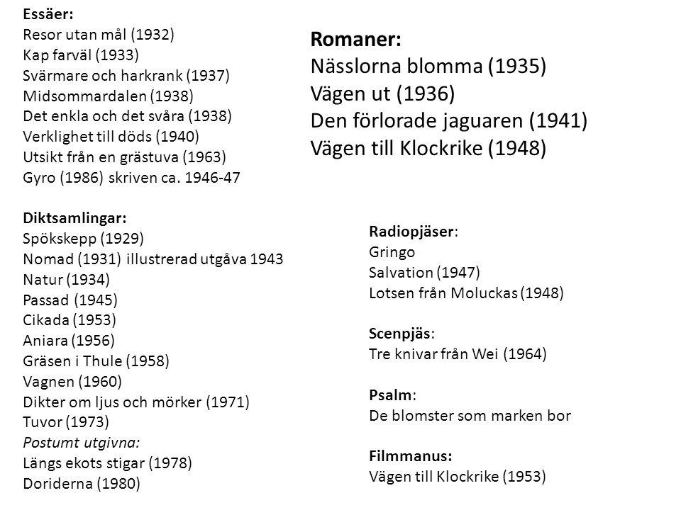 1904 Född 6 maj i Blekinge i en lanthandel vid sjön Immeln.
