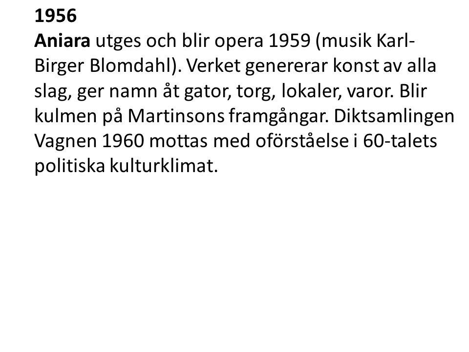1974 Delat nobelpris i litteratur med Eyvind Johnson.