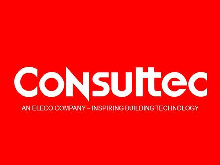 AN ELECO COMPANY – INSPIRING BUILDING TECHNOLOGY.