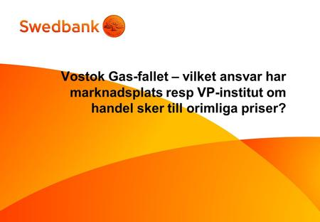 VOSTOK GAS