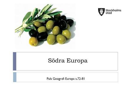 södra europa