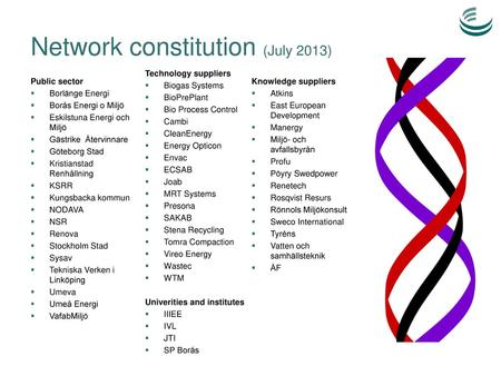 Network constitution (July 2013)
