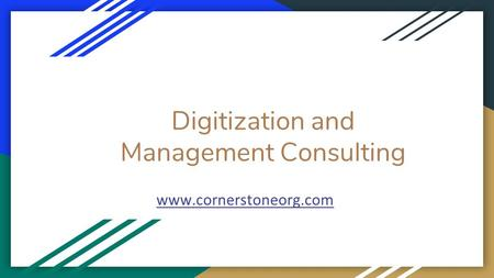Digitization and Management Consulting