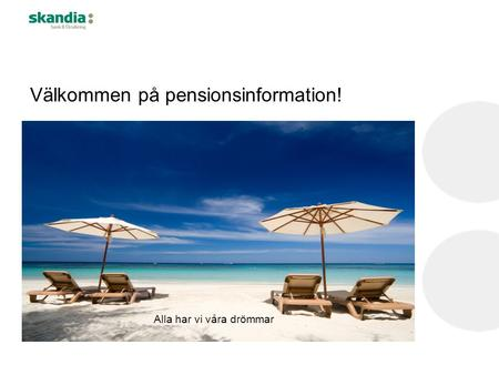 Välkommen på pensionsinformation!