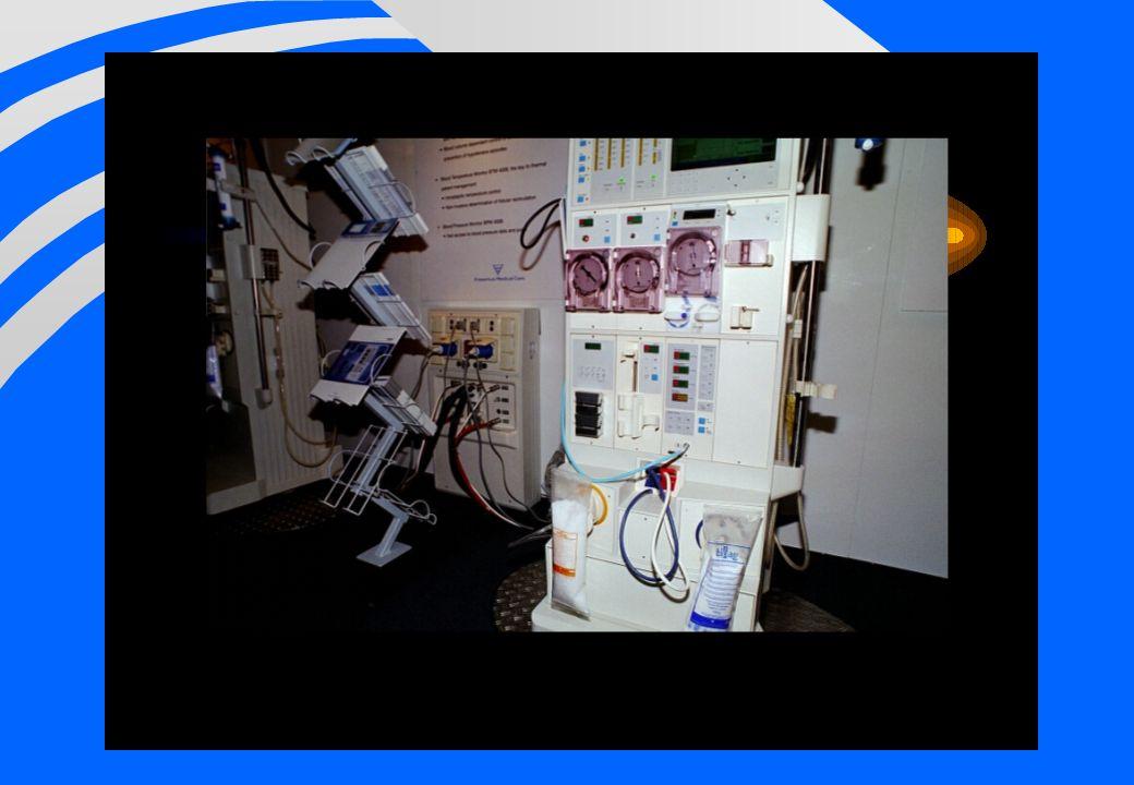 Säkerhetssystem för dialysvätsketillredning F Koncentratförvaring –Selekt system –Mjuk påse –Säl F Anslutningar –Spike –Bicart F Övervakning
