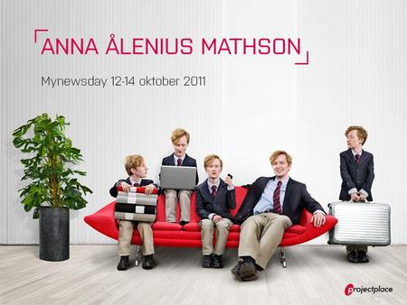 ANNA ÅLENIUS MATHSON º International PR Manager º LinkedIn º Bloggar MND.