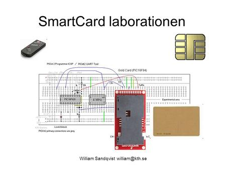 William Sandqvist SmartCard laborationen.