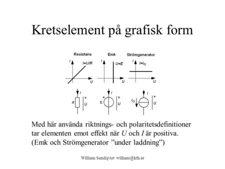 Kretselement på grafisk form