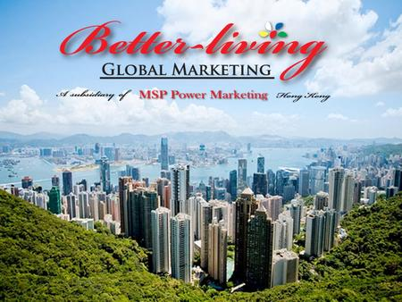 Better-Living Global Marketing Ltd