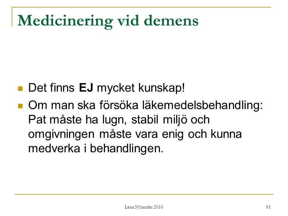 Medicinering vid demens