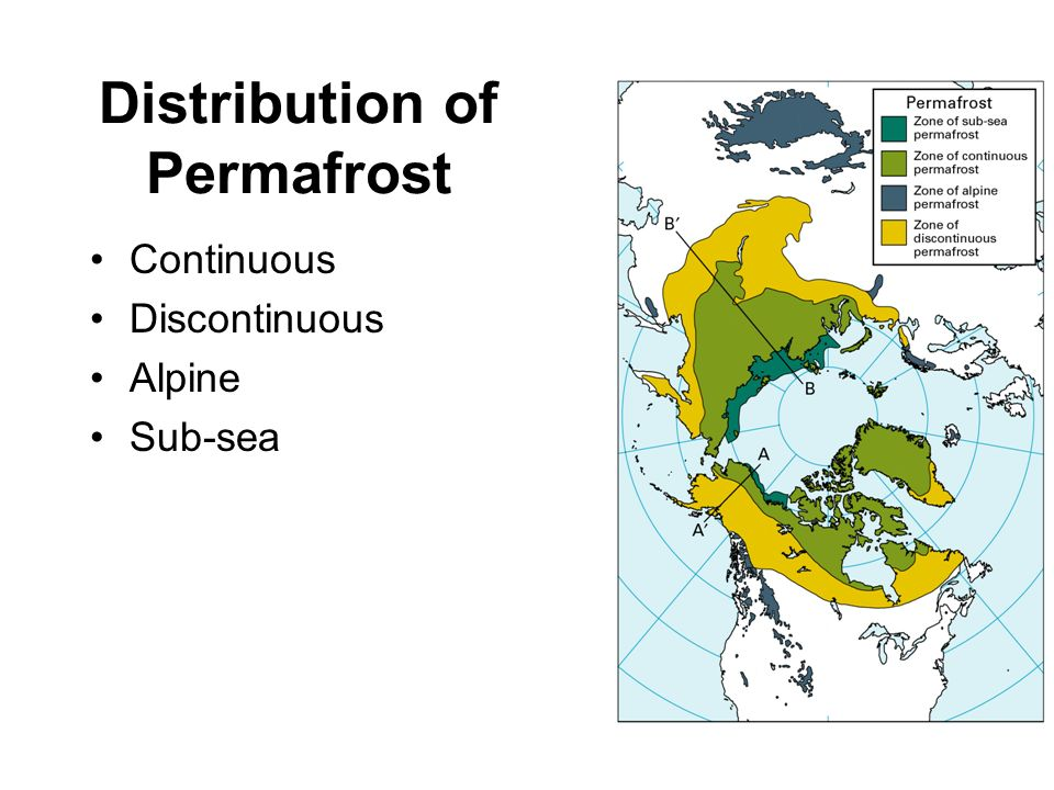 Distribution of Permafrost