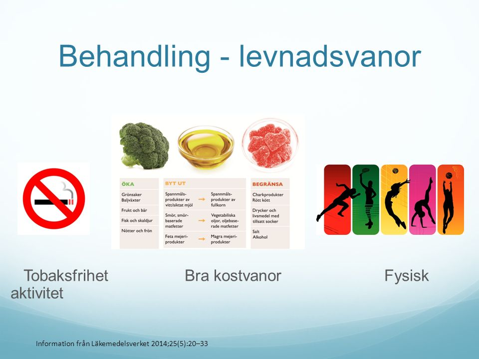Behandling - levnadsvanor