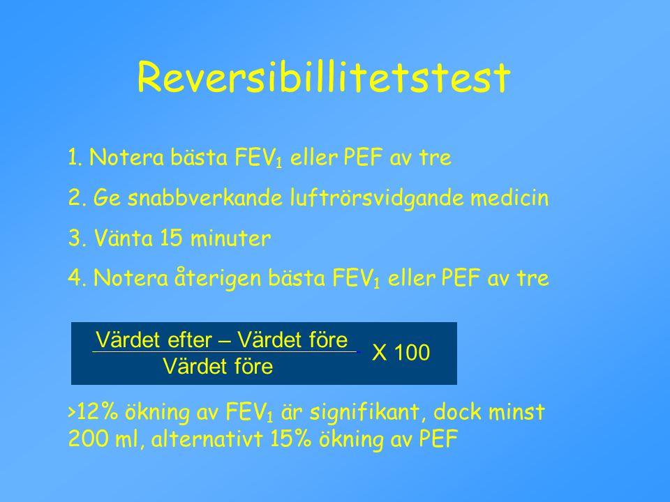 Reversibillitetstest