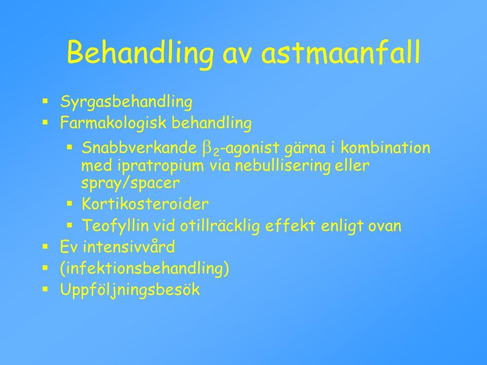 Behandling av astmaanfall