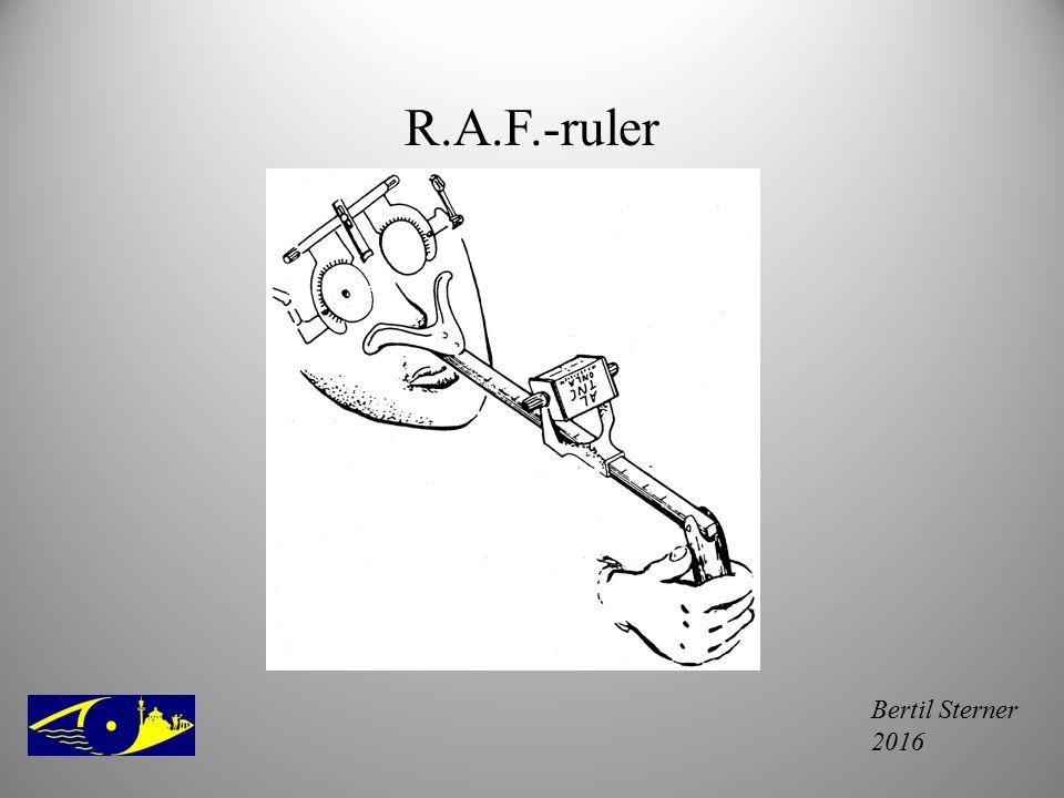 R.A.F.-ruler