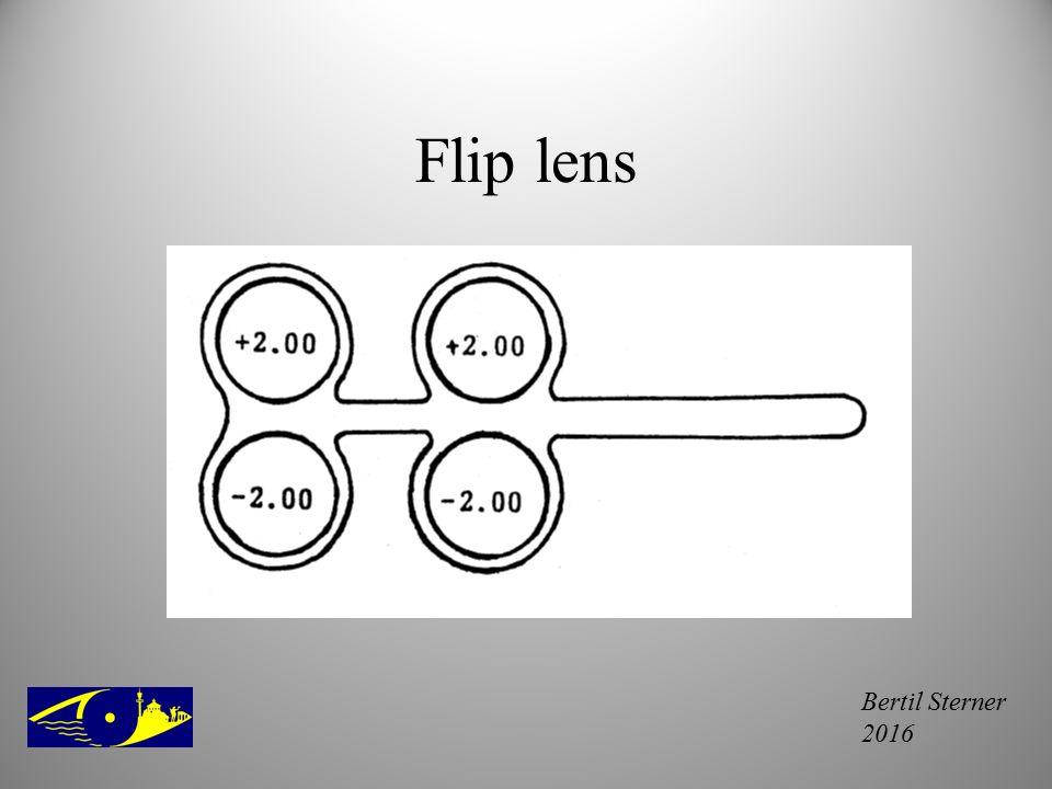 Flip lens